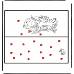 Manualidades - San Valentín Tarjeta 1