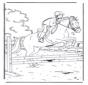 Santando a caballo