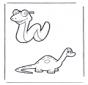 Serpiente y dinosaurio