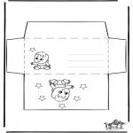 Manualidades - Sobre de Bebé