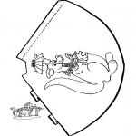Manualidades - Sombrero de canguro