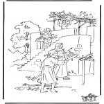Dibujos de la Biblia - Sucot