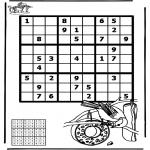 Manualidades - Sudoku - Aves