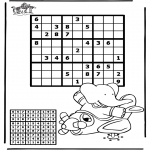 Manualidades - Sudoku - Avión