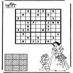 Manualidades - Sudoku de Blancanieves