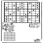 Manualidades - Sudoku de Cars