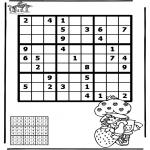Manualidades - Sudoku de chica