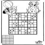Manualidades - Sudoku de Dálmatas
