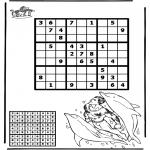 Manualidades - Sudoku de Delfín