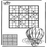Manualidades - Sudoku de globo aerostático