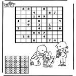 Manualidades - Sudoku de Mila y Yaco