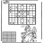 Manualidades - Sudoku de montar a caballo