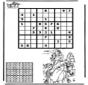 Sudoku de montar a caballo