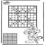 Manualidades - Sudoku de pirata