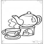Dibujos Infantiles - Tacita de té