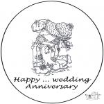Temas - Tarjeta... años casados