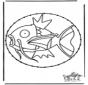 Tarjeta bordada de Pokemon