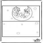 Manualidades - Tarjeta de bebé 2