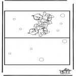 Manualidades - Tarjeta de bebé 3