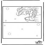 Manualidades - Tarjeta de bebé 5