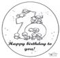 Tarjeta de cumpleaños: 10 años