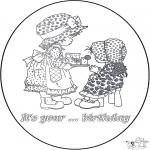 Manualidades - Tarjeta de cumpleaños 2