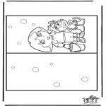 Manualidades - Tarjeta de Dora 2