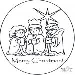 Manualidades - Tarjeta navideña 1