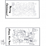 Manualidades - Tarjeta navideña 2