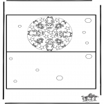 Manualidades - Tarjeta navideña 3