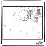 Manualidades - Tarjeta navideña 4