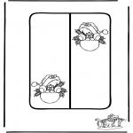 Manualidades - Tarjeta navideña 8
