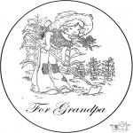 Manualidades - Tarjeta para el abuelo