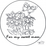 Manualidades - Tarjeta para mamá 1