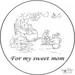 Manualidades - Tarjeta para mi madre