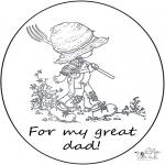 Manualidades - Tarjeta para papá