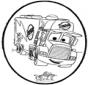 Tarjeta perforada - Cars