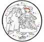 Tarjeta Perforada de Carnaval