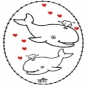 Tarjeta perforada de San Valentín 4