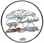 Tarjeta perforada - Fungi