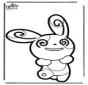 Tarjeta perforada Pokemon 5