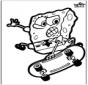 Tarjeta perforada SpongeBob
