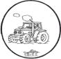 Tarjeta perforada Tractor