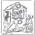 Dibujos Infantiles - Teatro de marionetas
