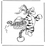 Personajes - Tiger de conejo de Pascua