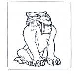 Animales - Tigre Dientes de Sable