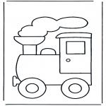 Dibujos Infantiles - Tren