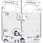 Manualidades - Trozo de calendario 1