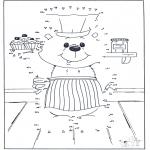 Manualidades - Une los puntos 6