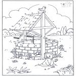 Manualidades - Une los puntos - Gato
